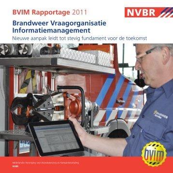 BVIM-rapportage 2011.pdf - Brandweer Nederland