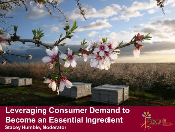 Leveraging Consumer Demand to Become an Essential Ingredient