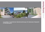 Luxuriöse 4 1/2-Zimmer-Gartenwohnung mit ... - Homegate.ch