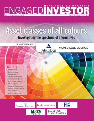 Asset classes of all colours - Engaged Investor