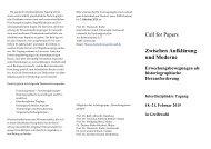 Flyer zur Tagung - Theologischen Fakultät der Ernst-Moritz-Arndt ...