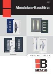 Aluminium-Haustüren - Klaus Baubeschläge GmbH