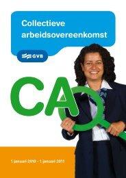 CAO GVB - Abvakabo FNV