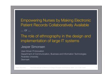 Empowering Nurses by Making Electronic Patient Records ...