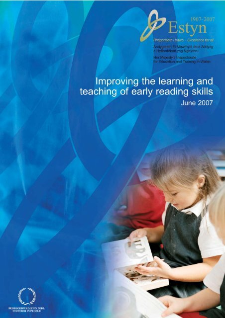 Improving the learning and teaching of early reading skills - Estyn