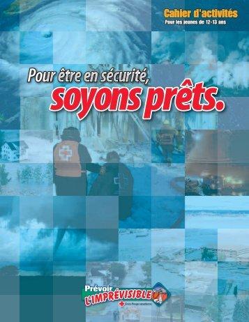 Cahier d'activités - Croix-Rouge canadienne