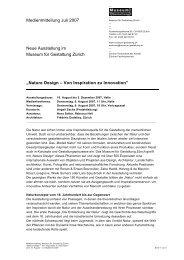 """""""Nature Design – Von Inspiration zu Innovation ... - eMuseum"""
