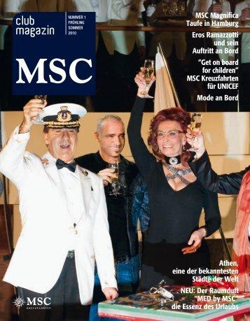 CHIC&CHOC - MSC Kreuzfahrten