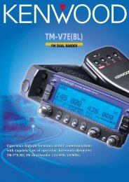 TM-V7E(BL) - Kenwood