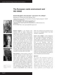 The European cards environment and ISO 20022 - Equens