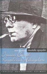 Mustafa Apaydın-Osman Cemal Kaygılı'nın Hikayeleri