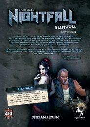 Nightfall Blutzoll - Anleitung - Pegasus Spiele