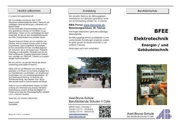 Elektrotechnik -Energie– und Gebäudetechnik - BBS-Portal