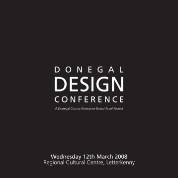 D O N E G A L CONFERENCE - Institute of Designers in Ireland
