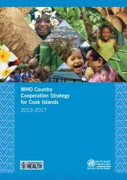 Country Cooperation Strategy pdf, 4.06Mb - WHO Western Pacific ...