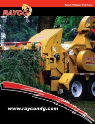 Specs - Trenchless Utility Equipment Inc.