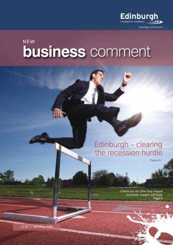 Edinburgh – clearing the recession hurdle