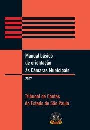 Orientação às Câmaras Municipais - Tribunal de Contas do Estado ...