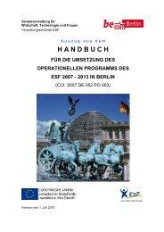 Handbuch für die Umsetzung des Operationellen ... - Berlin.de