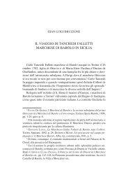 il viaggio di tancredi falletti marchese di barolo in sicilia
