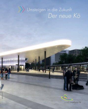 Der neue Kö - Projekt Augsburg City