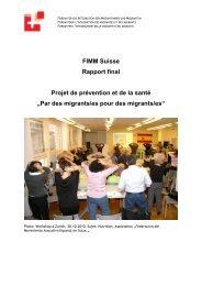 Rapport final (PDF, 410 Ko) - Forum pour l'intégration des Migrantes