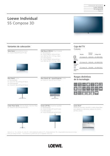 Loewe Individual 55 Compose 3D - Novomusica