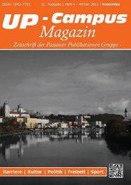 Die 32. Ausgabe - Heft 1/2012 - erscheint im ... - UP-Campus Magazin