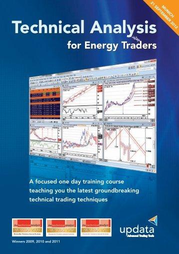 View the Munich Training Brochure here - Updata Technical Analyst