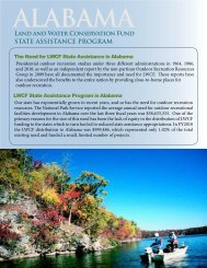 LWCF Fact Sheet - Alabama Department of Economic and ...