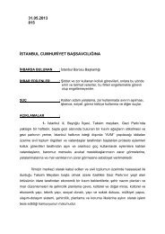 31.05.2013 815 istanbul cumhuriyet başsavcılığına - İstanbul Barosu
