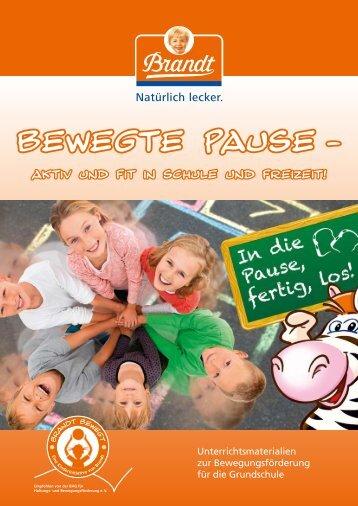 """Unterrichtsmappe """"Bewegte Pause"""" - Care Line"""