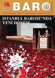 ‹stanbul barosu'nda yen‹ dönem - İstanbul Barosu