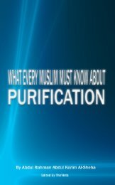 What Every Muslim MUST Know About Purification - Enjoy Islam