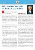 BARO BAfiKANLARI ANKARA'DA TOPLANDI ... - Ä°stanbul Barosu - Page 3