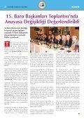 BARO BAfiKANLARI ANKARA'DA TOPLANDI ... - Ä°stanbul Barosu - Page 4