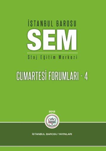 Genel Yayın Sıra No - İstanbul Barosu