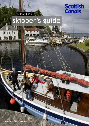 Crinan Canal Skippers Guide - Scottish Canals