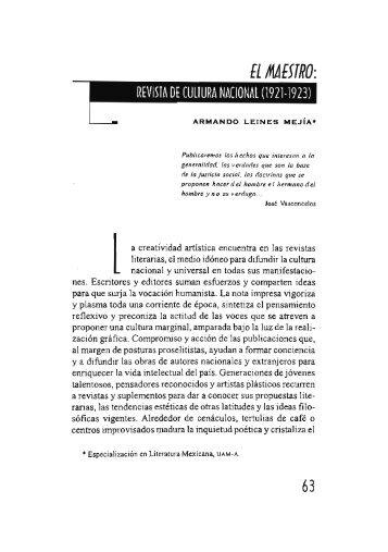 El maestro: Revista de Cultura Nacional - Si necesitas algún libro ...