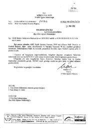 Yazı - Mersin İl Milli Eğitim Müdürlüğü - Milli Eğitim Bakanlığı