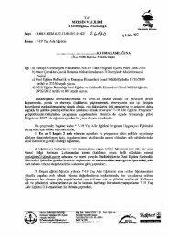 İl Milli Eğitim Müdürlüğü Yazısı - Mersin İl Milli Eğitim Müdürlüğü