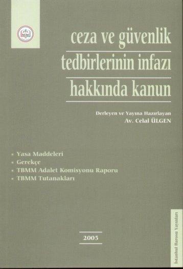 ceza ve güvenlik - İstanbul Barosu