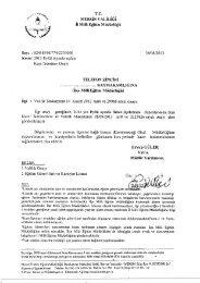 Yazı-Onay - Mersin İl Milli Eğitim Müdürlüğü