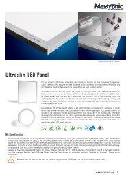 Ultraslim LED Panel - bei Mextronic