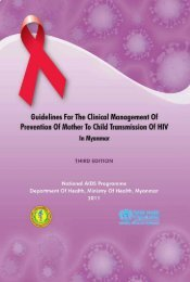 Guidelines for the clinical management of prevention of mother to ...