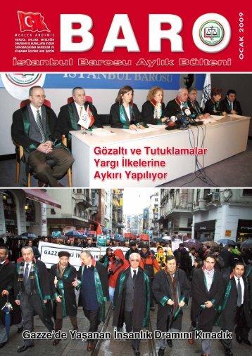 OCAK 2009 - Ä°stanbul Barosu