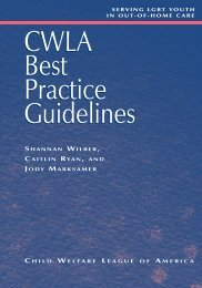 Best practice guidelines : serving LGBT youth in out-of-home care