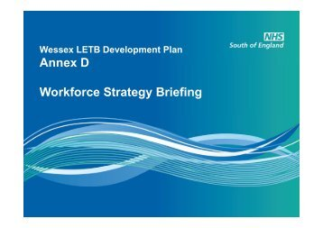 Annex D Workforce Skills and Development Strategy Briefing (PDF)