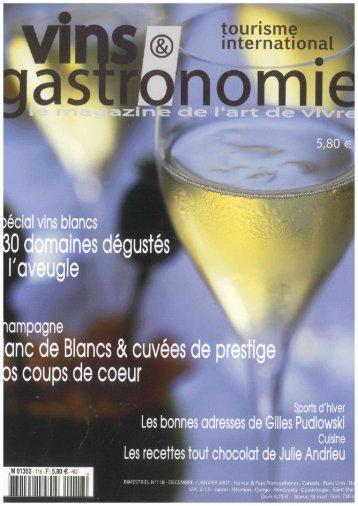 Vins et gastronomie - Domaine de Pellehaut