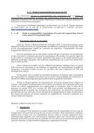 2 – 3 Droits et responsabilités des acteurs du SVE Les ... - Injep